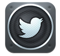 Twitter #music for iPhone icon