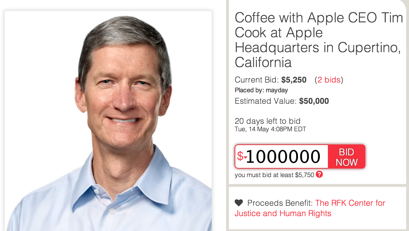 Tim-Cook-Charity-Buzz-auction