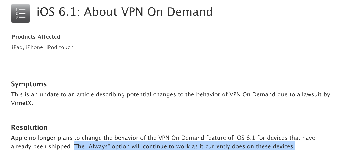 VPN-On-Demand-Virtnex