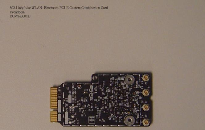 Next Mac 'Gigabit Wifi' spotted? Broadcom BCM94360CD PCI-E