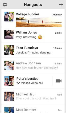 Google's new Hangouts app now available for iPhone and iPad - 9to5Mac