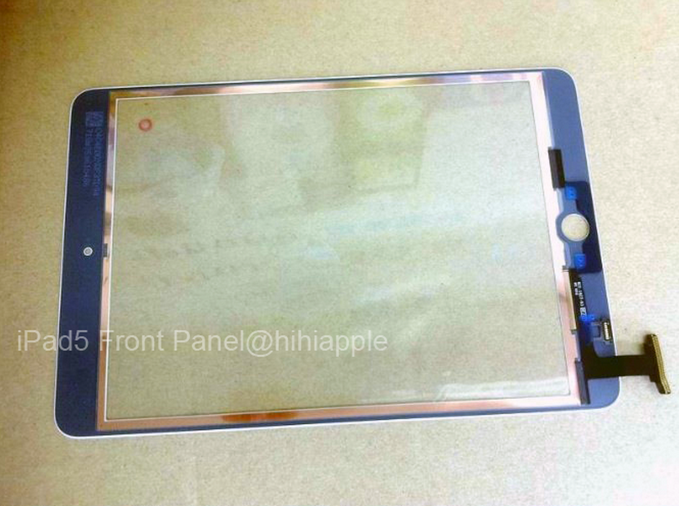 iPad-5-front-glass-panel