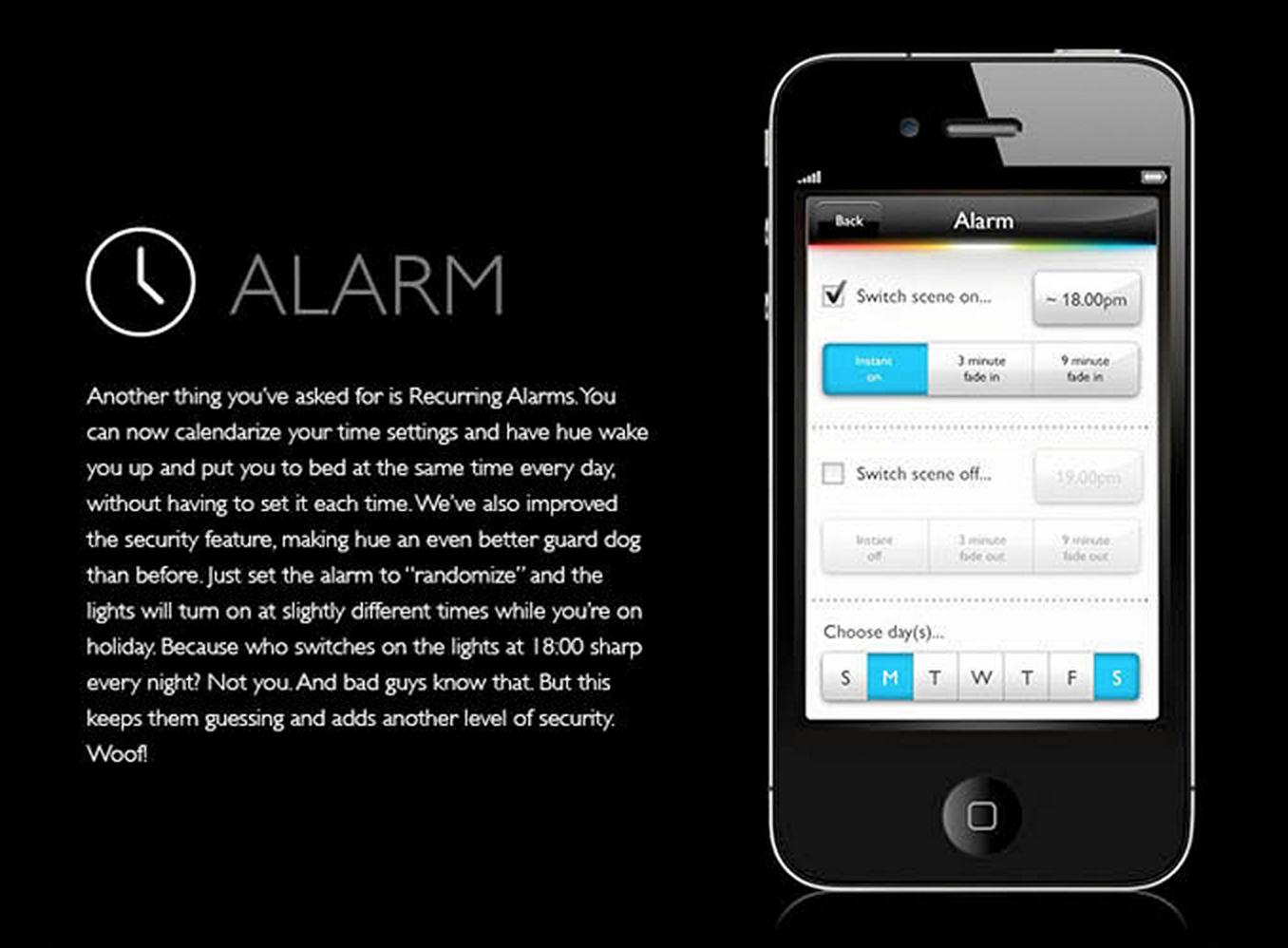 philips hue app update 02 9to5mac. Black Bedroom Furniture Sets. Home Design Ideas
