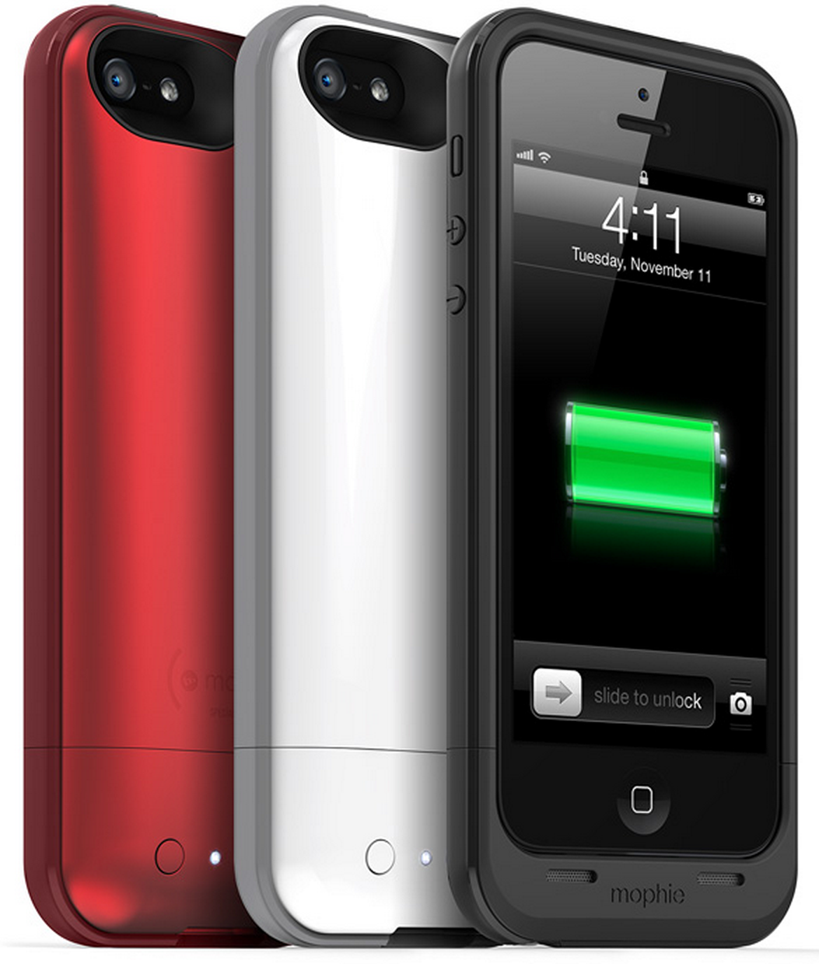 Mophie introduces 2100mAh iPhone 5 Juice Pack Plus cases