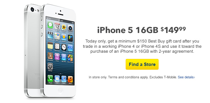 Best Buy To Reboot Free Iphone 5 Offer With Older Iphone Trade