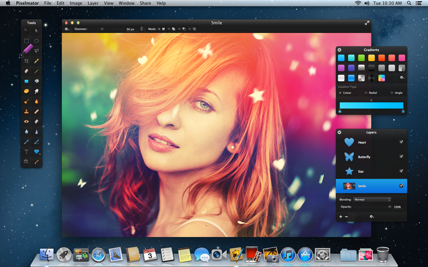 Graphics editing app Pixelmator receives large 'Blueberry' update with new shape tools, effects, and more