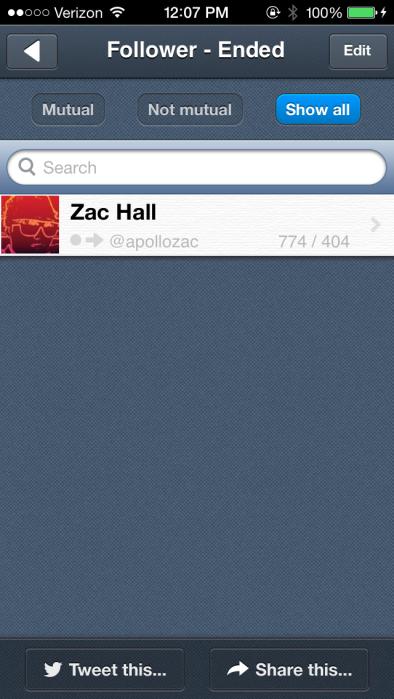 That hurts, Zac.