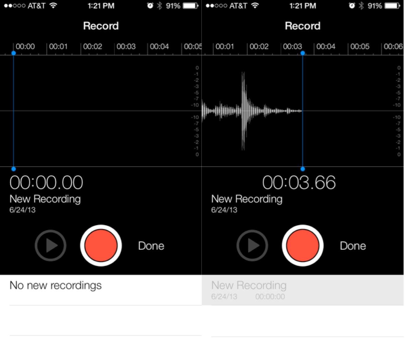 Apple seeds iOS 7 beta 2 to developers: Voice Memos, new