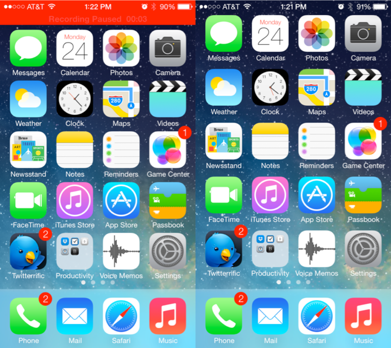 iphone screen capture apple seeds ios 7 beta 2 to developers voice memos new 12273