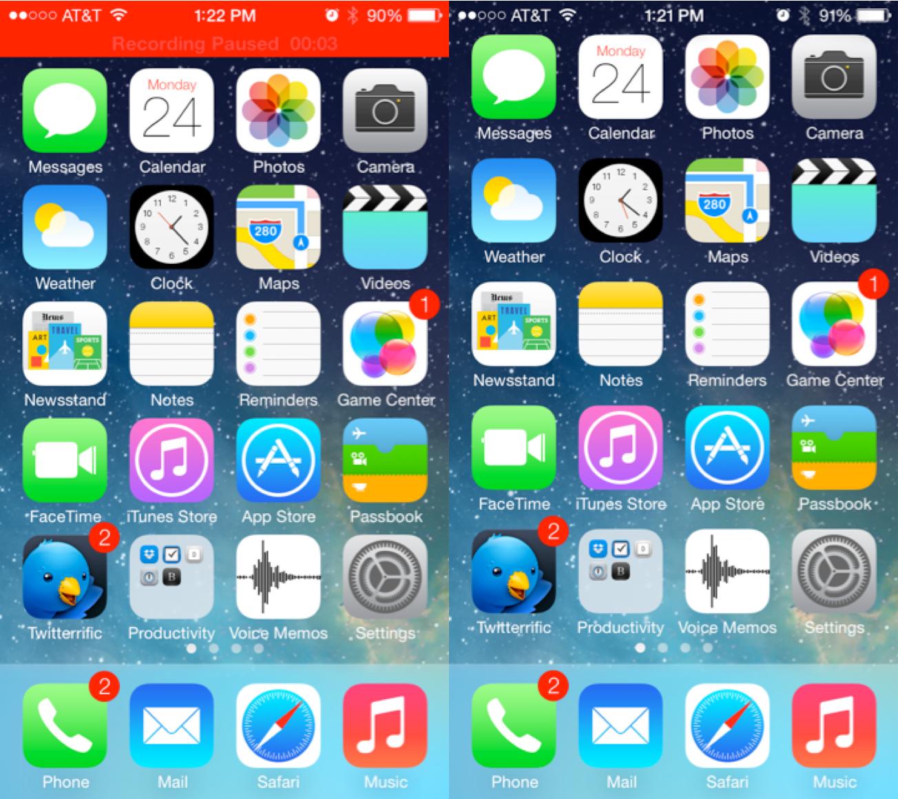 IOS 7 Beta 2 Siri has a brother