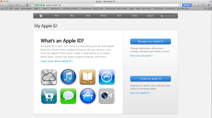 how to change your apple id on mac