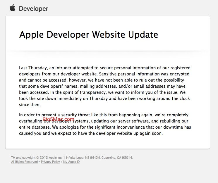 Apple-developer-outage-explanation
