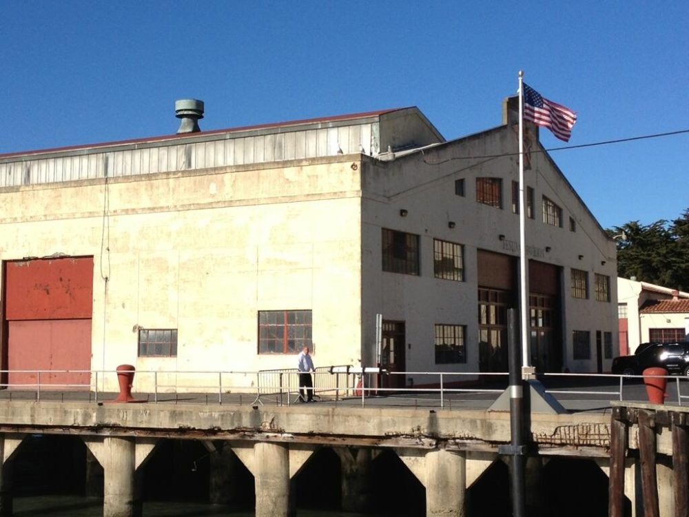 Apple prepping Fort Mason (Image via Noble Brown & Rene Ritchie)