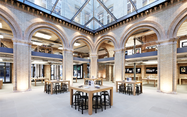 Apple's Covent Garden store in London