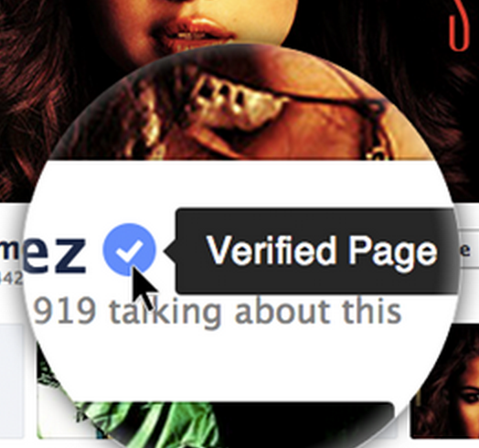 Facebook-verified-profile-pages