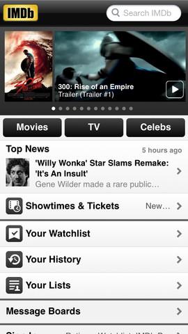 IMDb-iOS-app