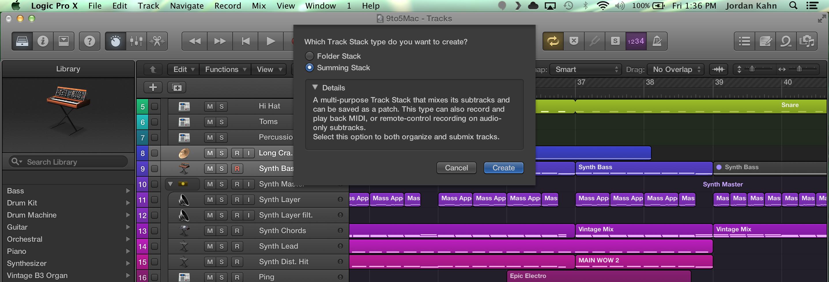 Logic-Pro-X-Track-Stacks