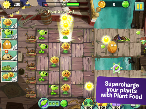 Plants vs Zombies 2 for iOS launches in Australia & New