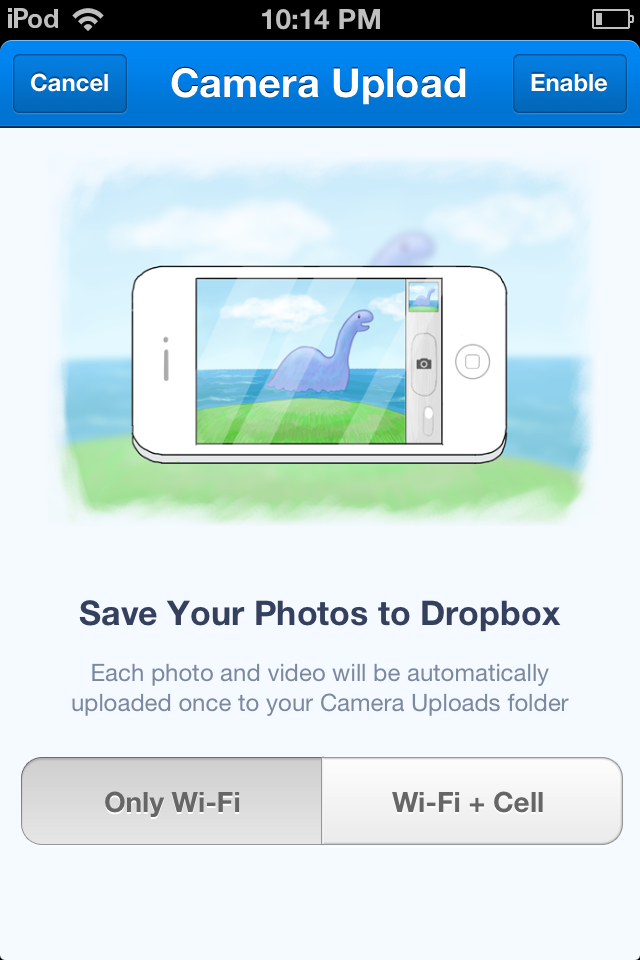 How-to: Setup and use Dropbox to manage and share photos