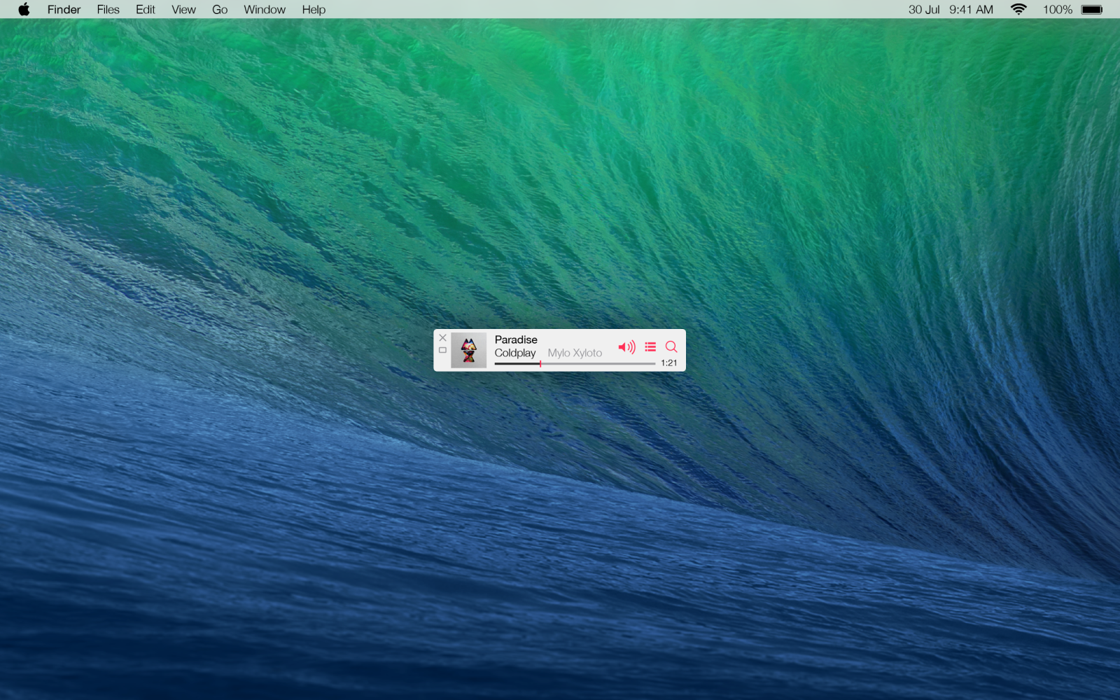 How to set the iTunes MiniPlayer on top of all windows on Mac