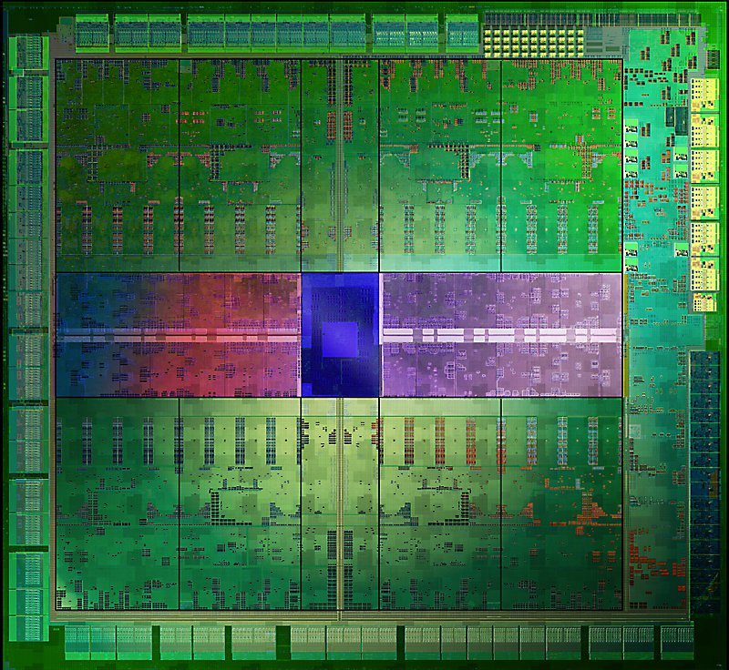 A 20nm test chip from TSMC