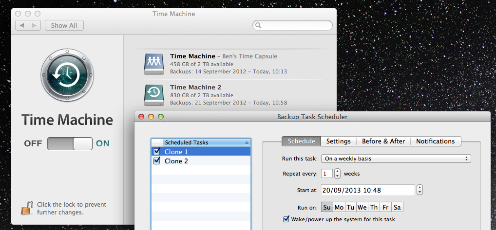 how to delete all backups my time capsule