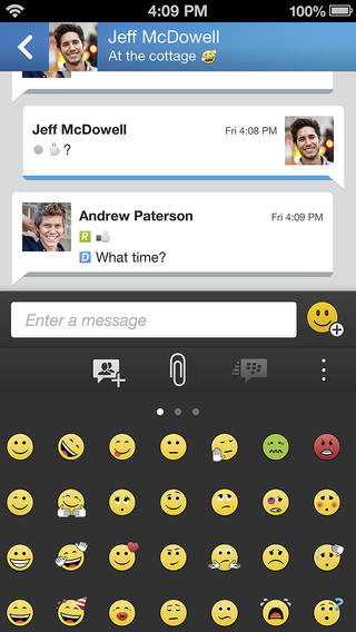 Five years late, BlackBerry Messenger (BBM) rolling out for