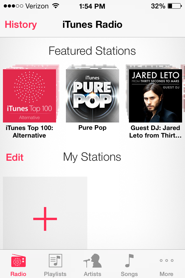iOS 7 How-To: Use Apple's new (and free) iTunes Radio