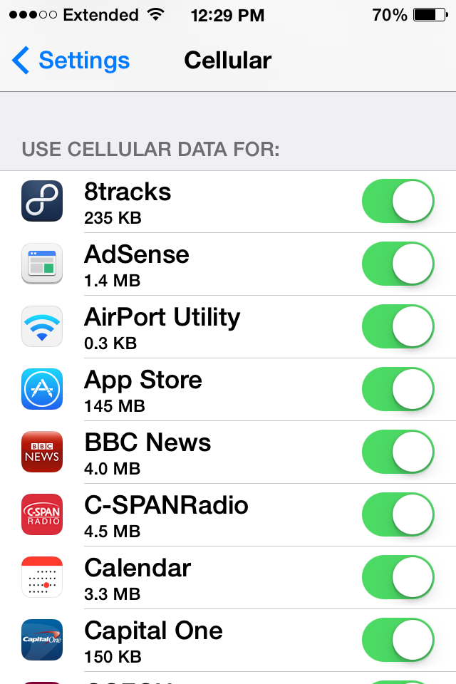 Ios 7 how to monitor track your cellular data usage 9to5mac