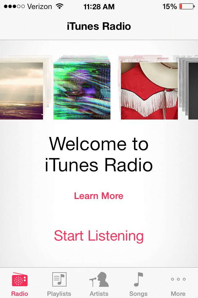 Itunes radio charges