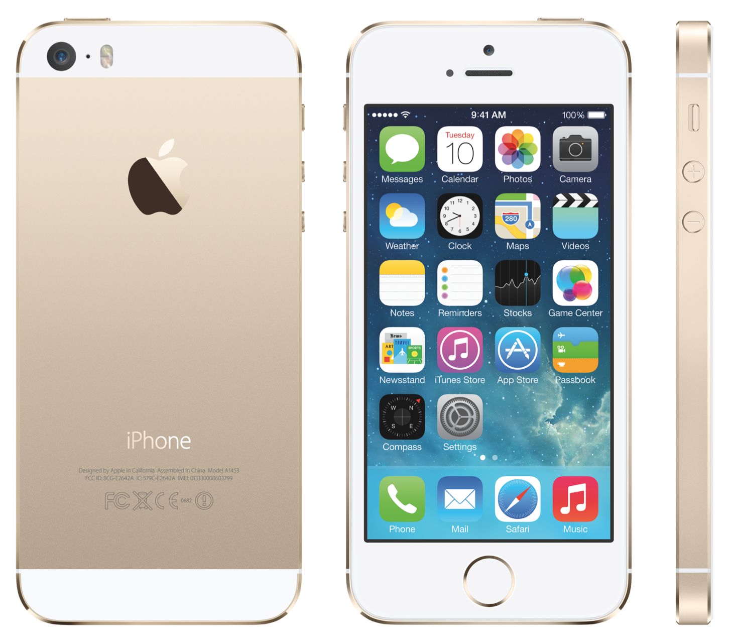 Gold-iPhone-5S