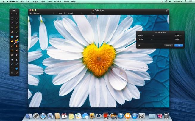 Pixelmator Liquify Tools