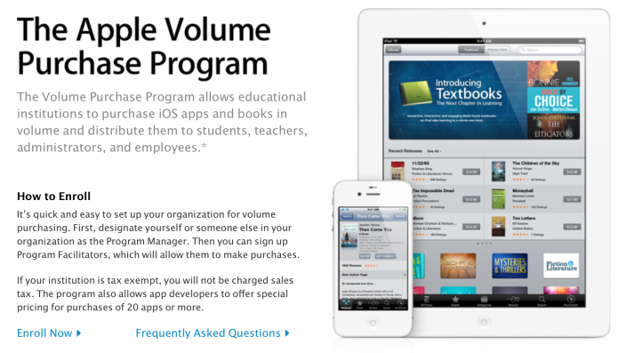 Apple's current iOS-exclusive program