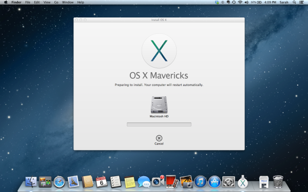 Getting ready for Mavericks: How to backup your Mac and set