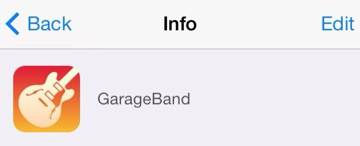 Redesigned Iphoto Garageband Ios Icons Appear Indicate Likely