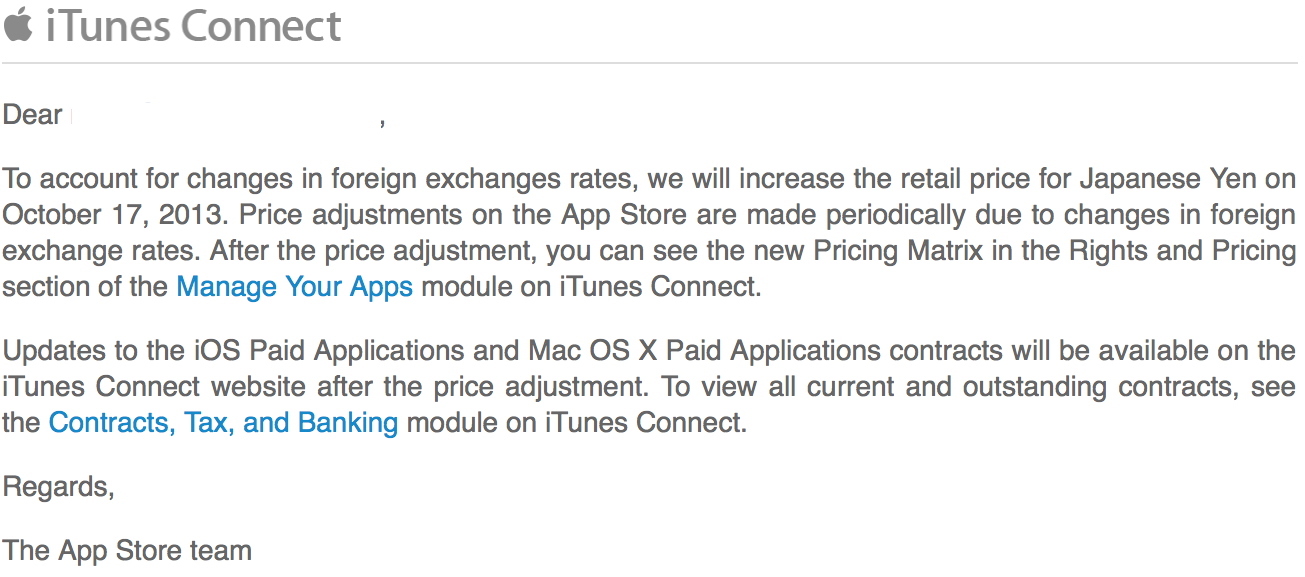 Mark gurman page 45 9to5mac apple has informed app store developers via email that it will be increasing the prices of app store apps in the japanese app store on october 17th altavistaventures Gallery