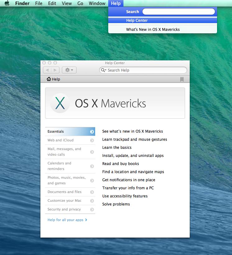 Mac osx 10 14