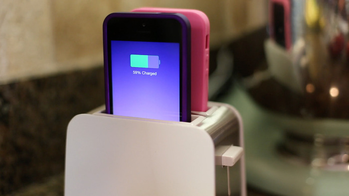 'Toaster' dual-iPhone charging dock appears on Kickstarter