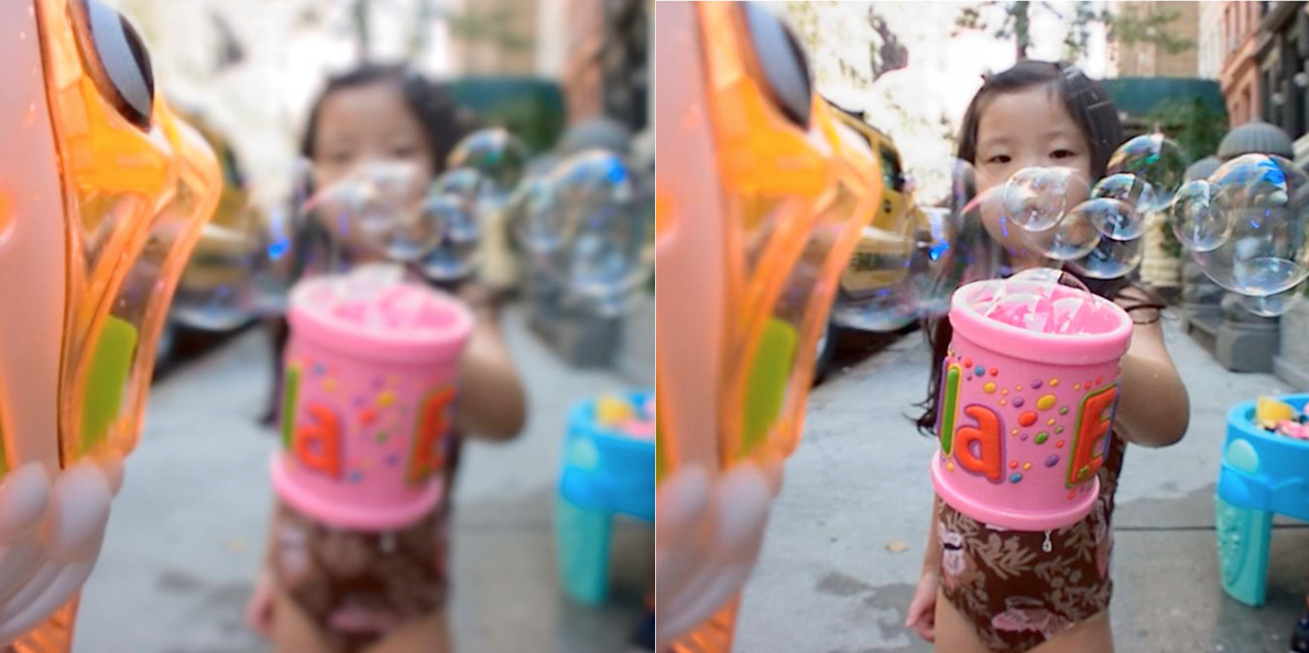 The same photograph with the focus point changed retrospectively (lycro.com)