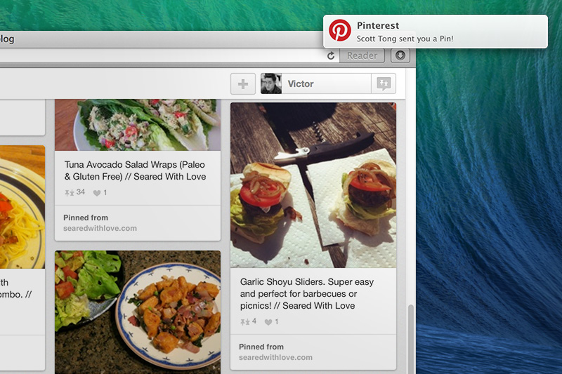 Pinterest-Safari-Push-Notifications