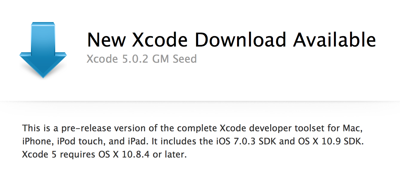 Apple releases Xcode 5 0 2 GM build to developers - 9to5Mac
