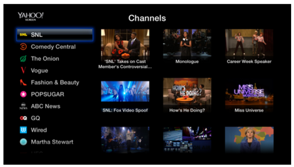 Yahoo Screen app and PBS arrive on Apple TV, free SNL, Daily