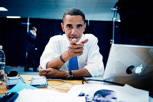 Obama-apple