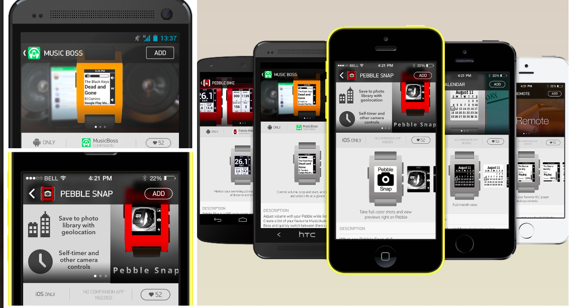 Pebble announces dedicated smartwatch appstore coming next year
