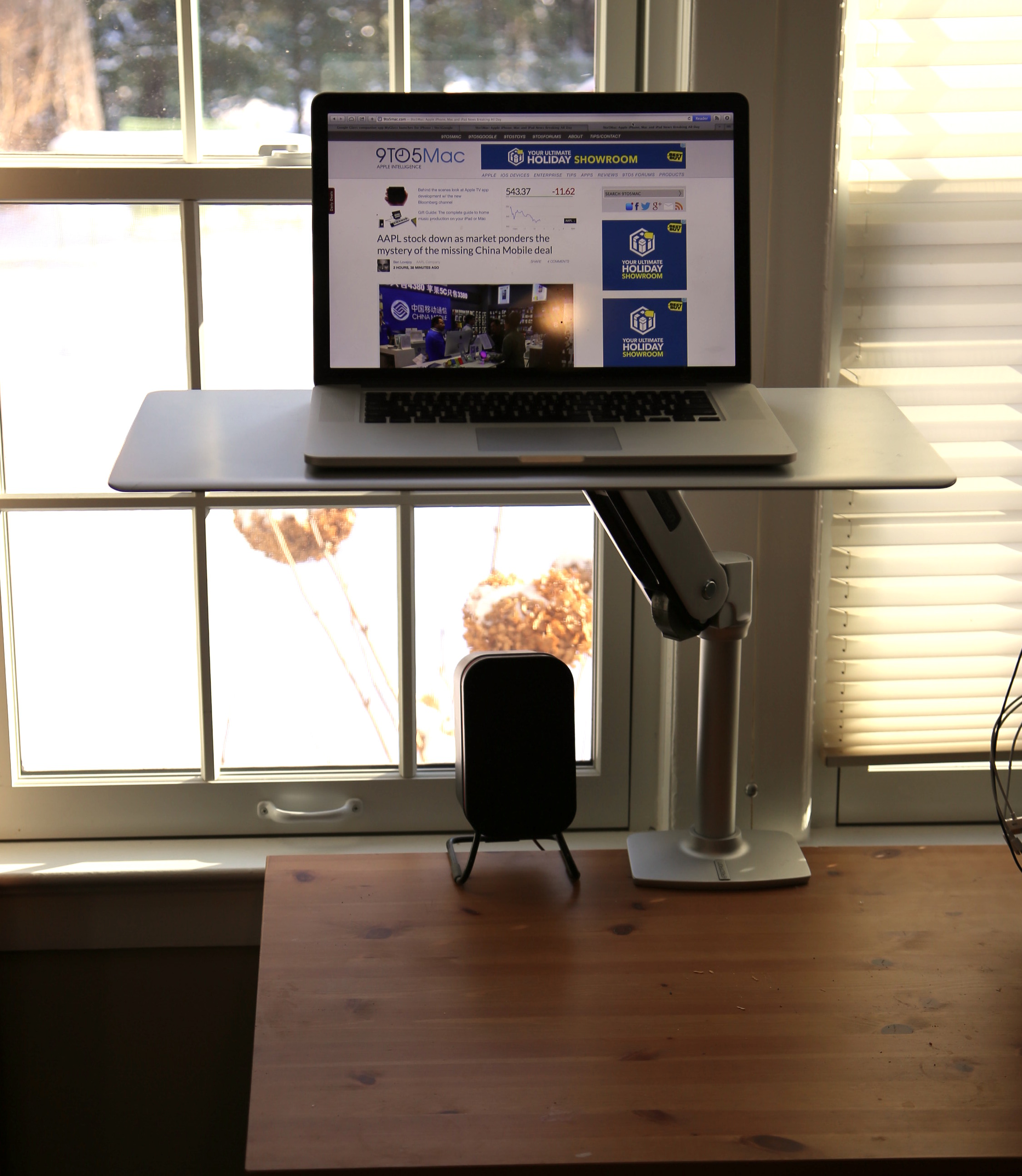 Review: WorkFit-P by ErgoTron - An easy transition to a sit or standing desk - 9to5Mac