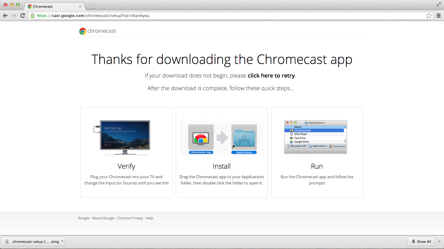 chromecast version 7 download