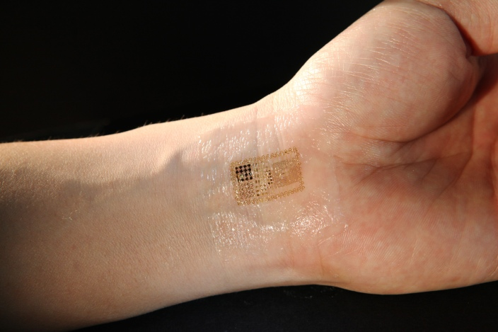 Example of biomedical industry's work on blood sensors