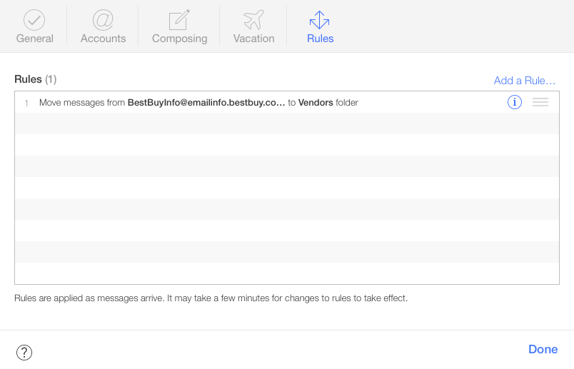 How-to: Use Apple Mail rules to automatically filter out unwanted