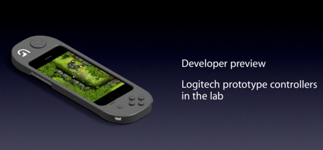Logitech-WWDC-controller-prototype