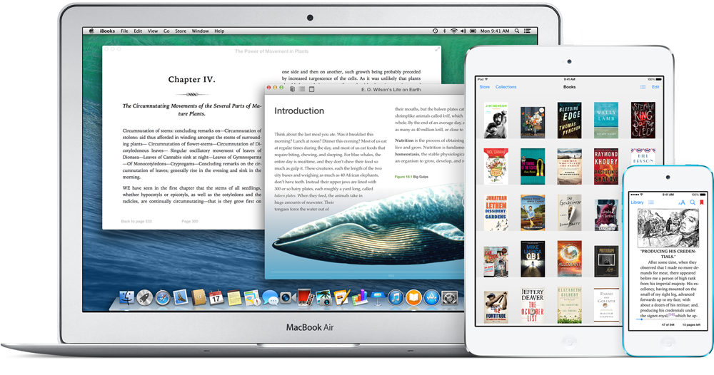 iBooks Mac iPad iPod